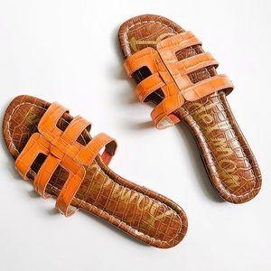 Sam Edelman | Orange Berit Sandals